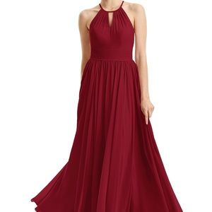 Azazie Cherish Bridesmaid Dress in Burgundy